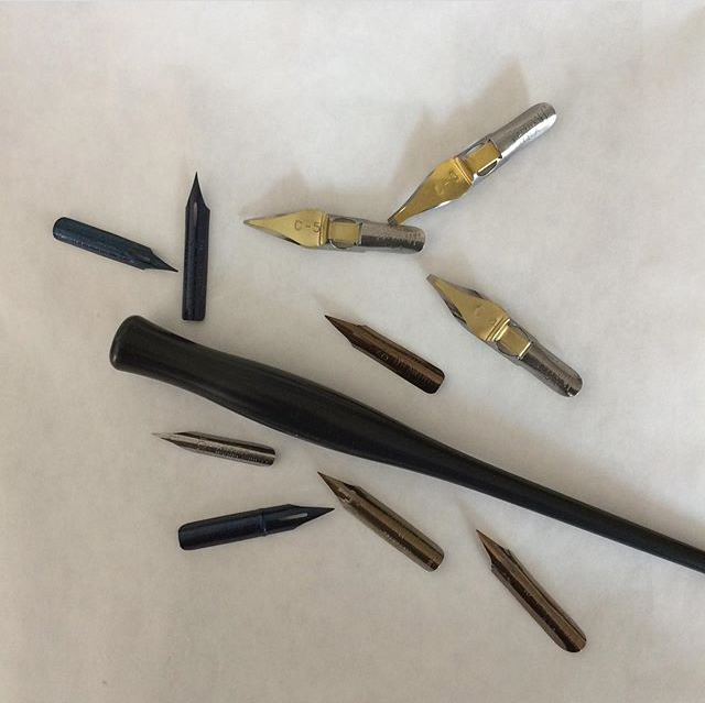 Kalligrafie lernen – Begriffe in der Kalligrafie