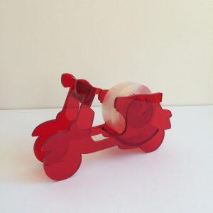 Klebebandabroller Motorroller