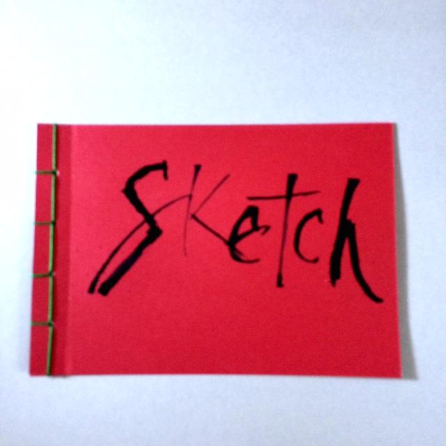 Skizzenbuch mit japanischer Bindung