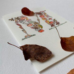 Onlinekurs Herbstlicher Buchstabe