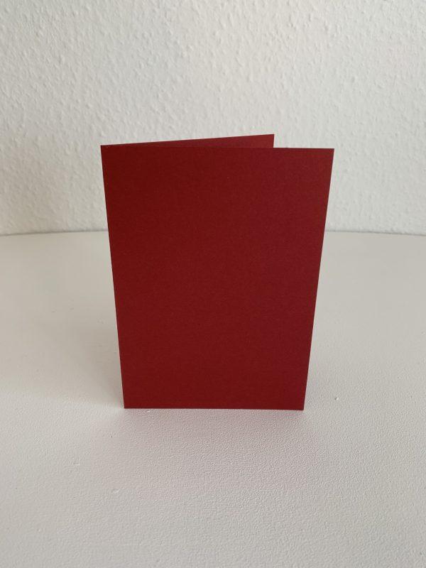 rote Briefkarte
