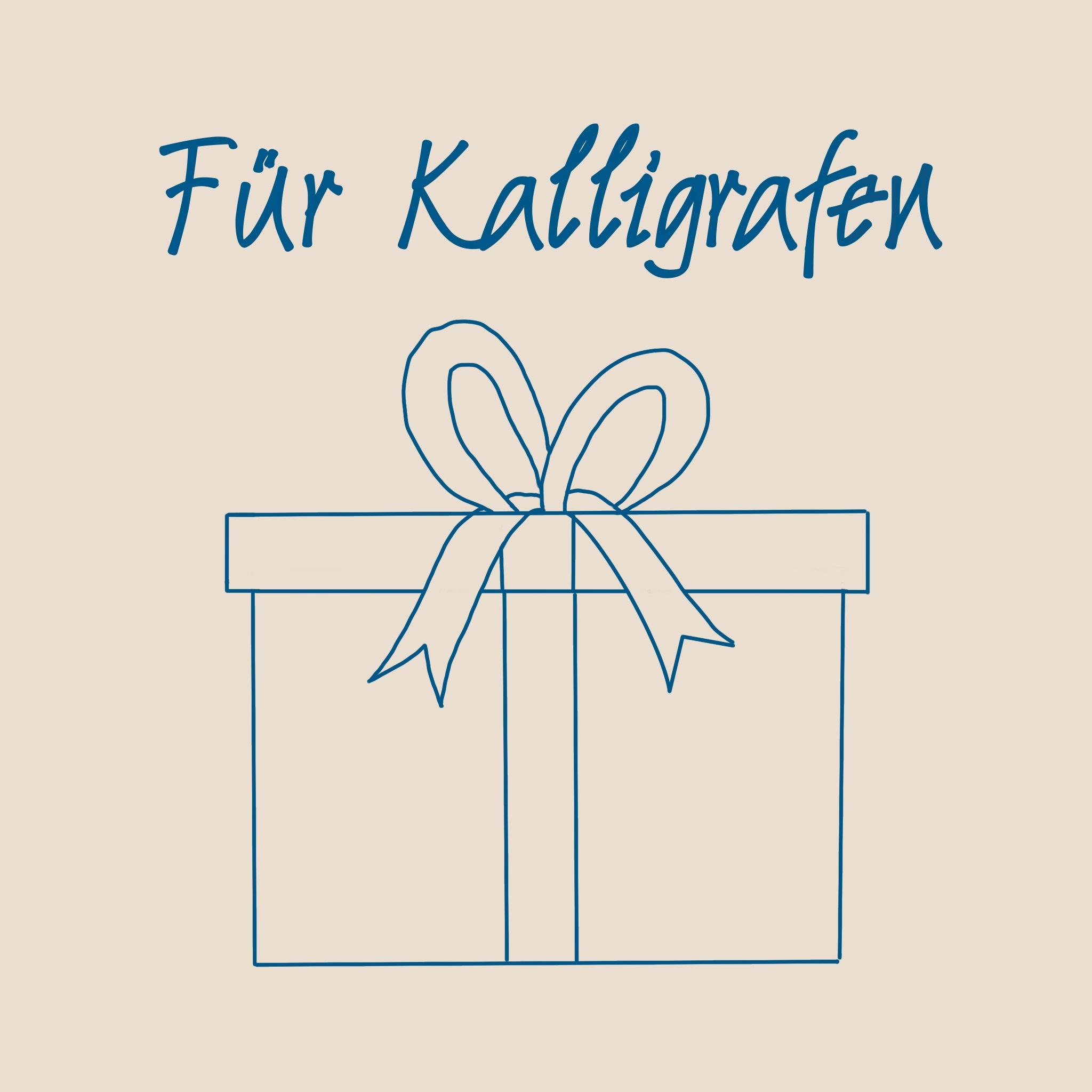 Kalligrafische Geschenke