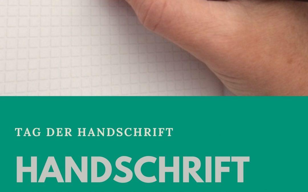 Handschrift verbessern – Tag der Handschrift