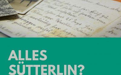 Sütterlin, Kurrent – oder was ist das?