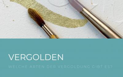 Vergoldung – die glänzende Seite der Kalligrafie